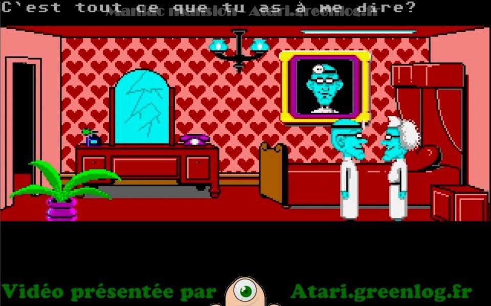 Maniac Mansion : Impression d'écran 32