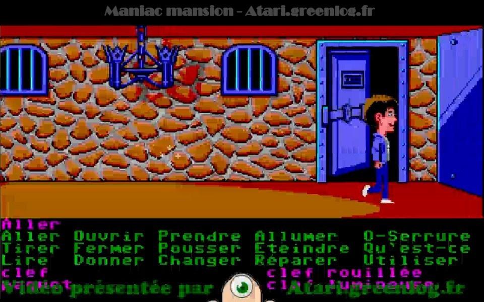 Maniac Mansion : Impression d'écran 36