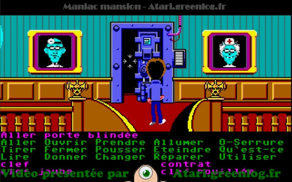 Maniac Mansion : Impression d'écran 4