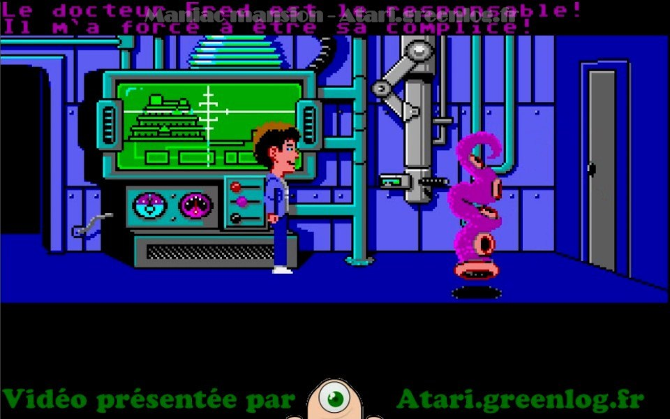 Maniac Mansion : Impression d'écran 40