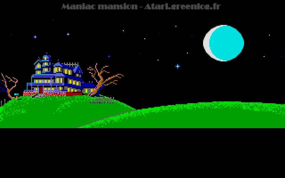 Maniac Mansion : Impression d'écran 44