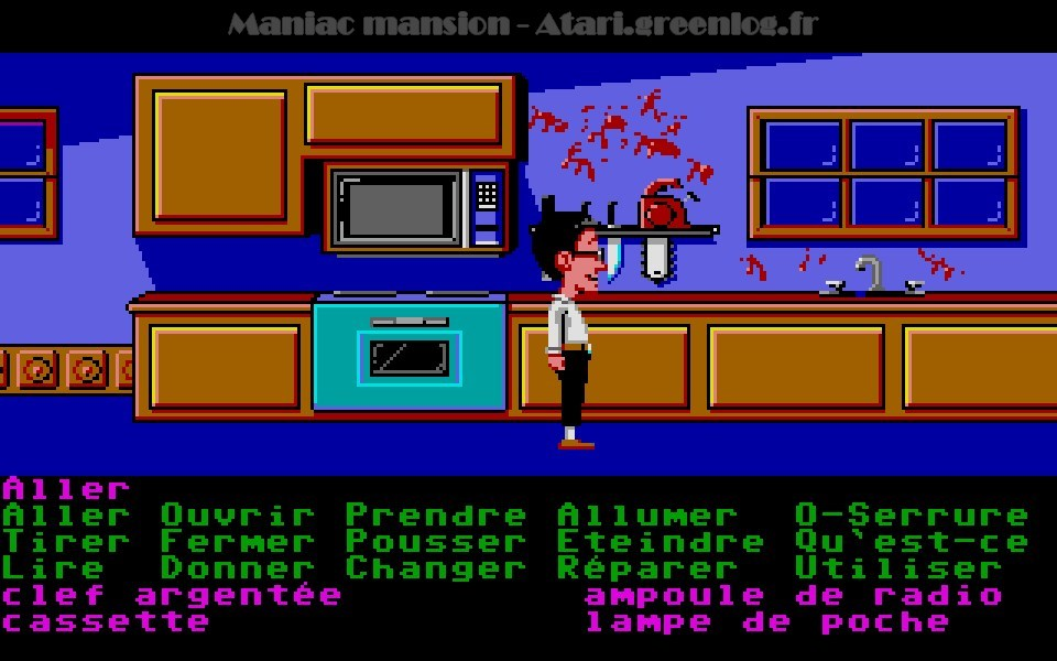 Maniac Mansion : Impression d'écran 52