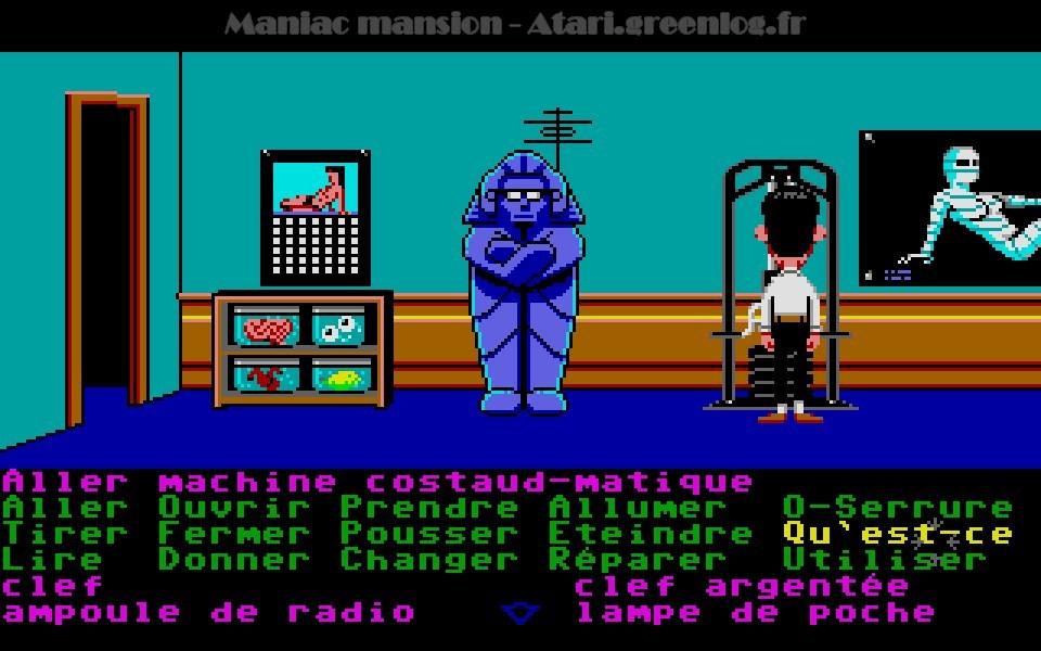 Maniac Mansion : Impression d'écran 73