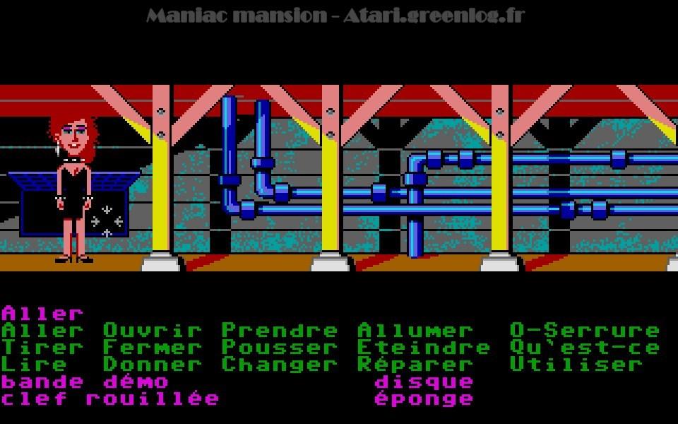 Maniac Mansion : Impression d'écran 79