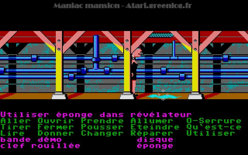 Maniac Mansion : Impression d'écran 80