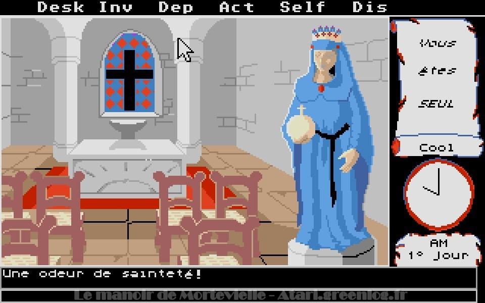Le manoir de Mortevielle : La chapelle