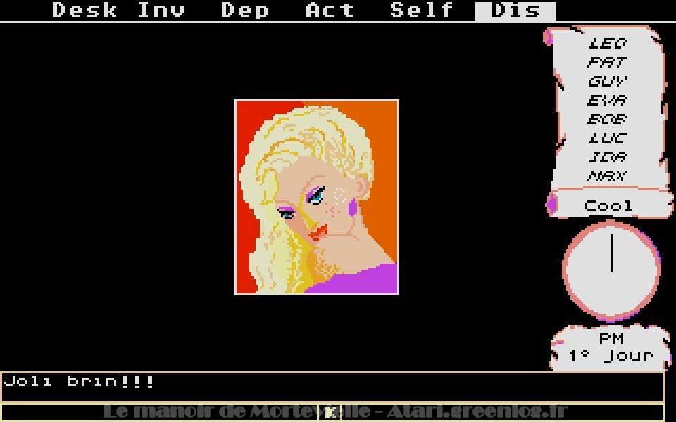 Le manoir de Mortevielle : Eva
