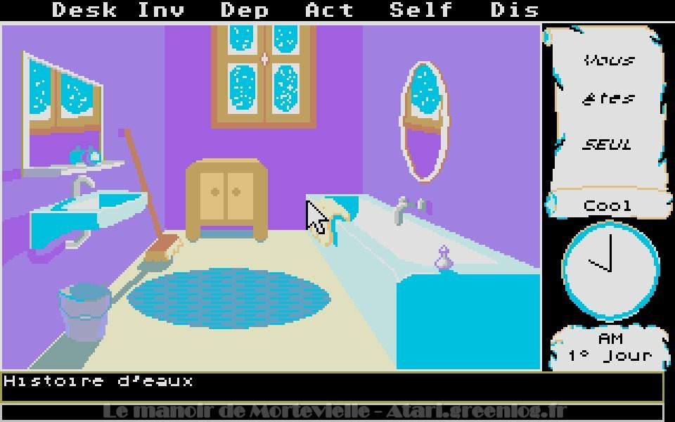 Le manoir de Mortevielle : 3ème porte à Droite - Salle de bain