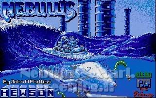 Ecran de démarrage de Nebulus