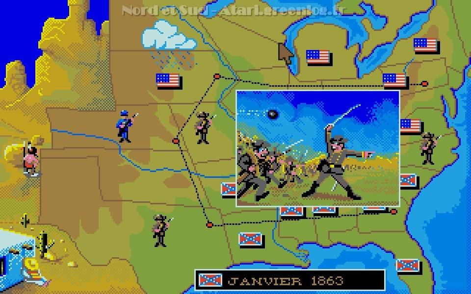 Nord et Sud : Impression d'écran 09