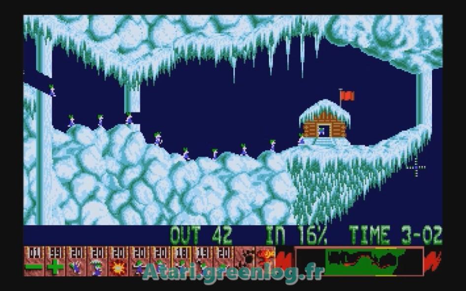 Oh No ! More Lemmings : Impression d'écran 9