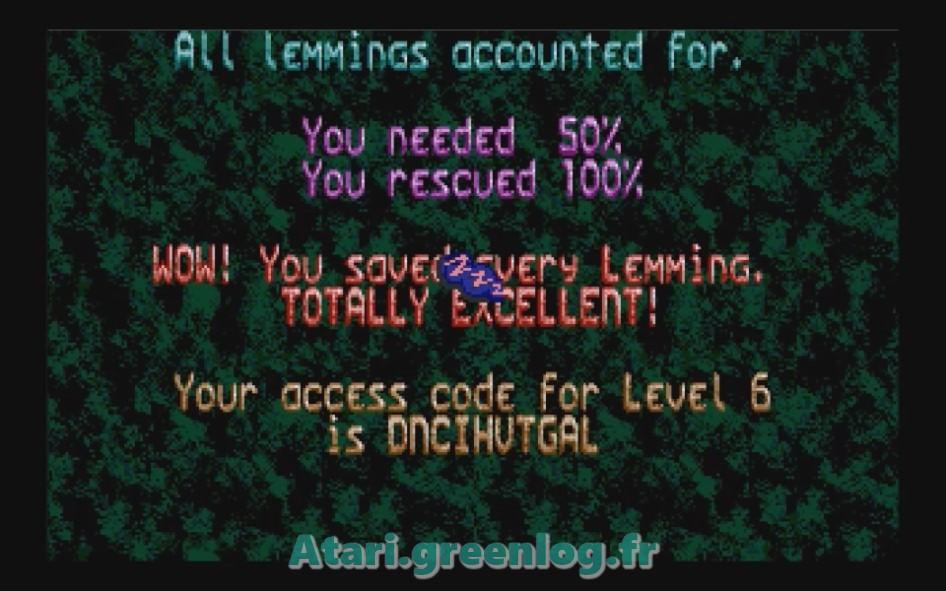 Oh No ! More Lemmings : Impression d'écran 14