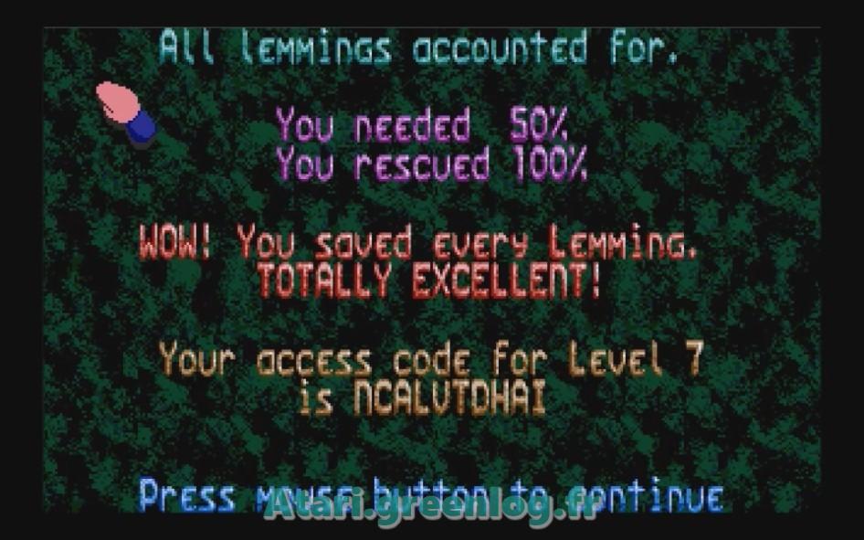 Oh No ! More Lemmings : Impression d'écran 16