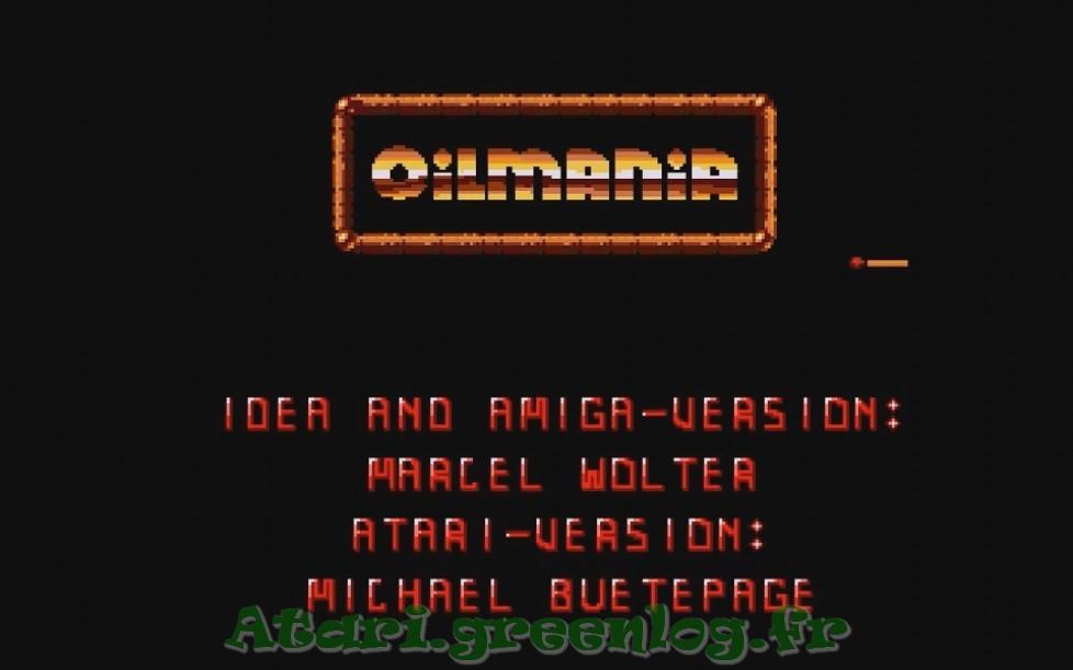 Oilmania : Impression d'écran 1