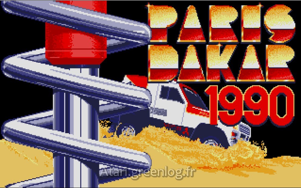 Paris Dakar 1990