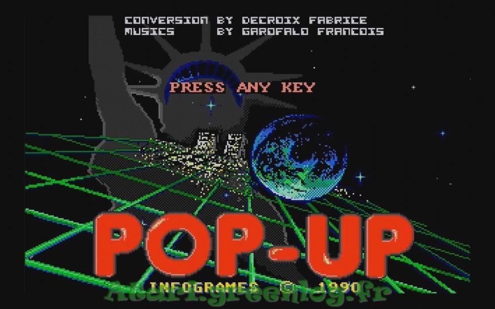 Popup : Impression d'écran 2