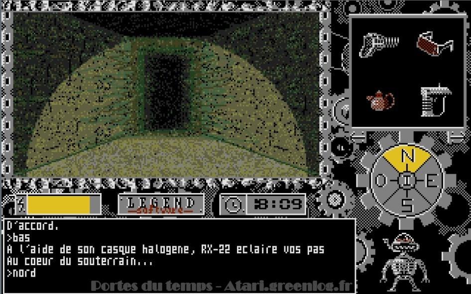 Les portes du temps : Impression d'écran 16