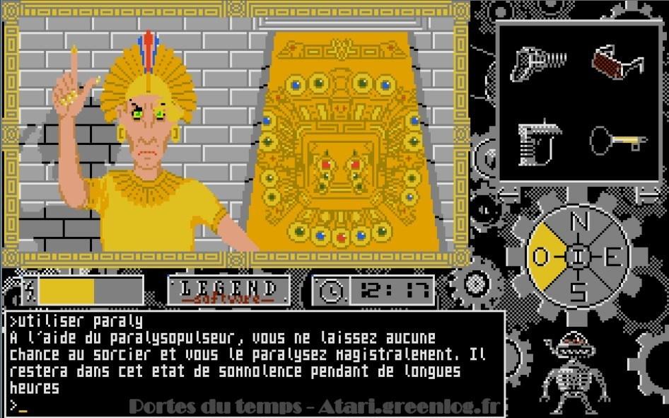 Les portes du temps : Impression d'écran 25