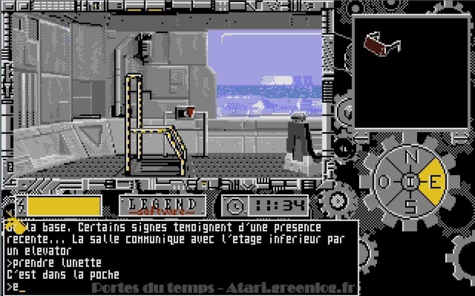 Les portes du temps : Impression d'écran 3