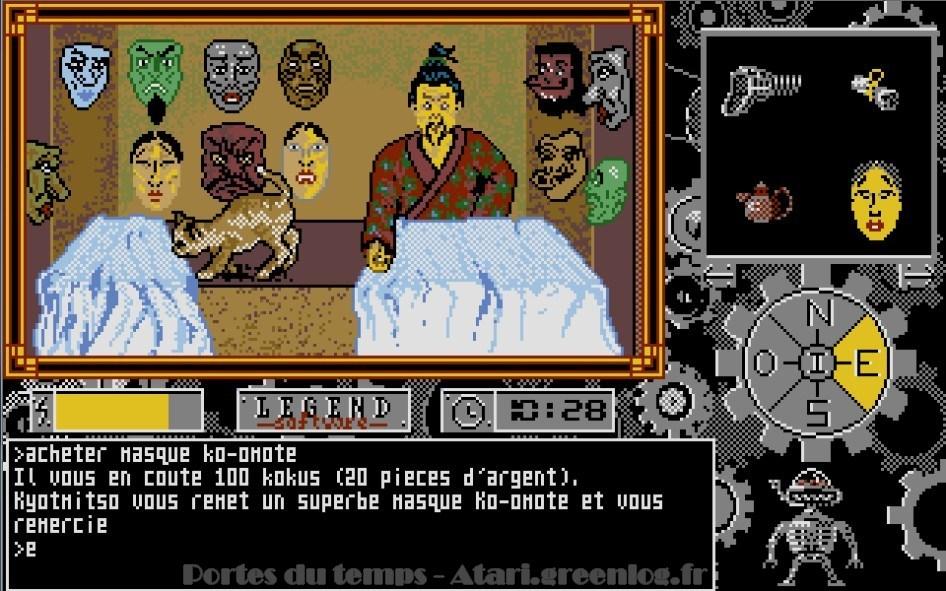 Les portes du temps : Impression d'écran 36