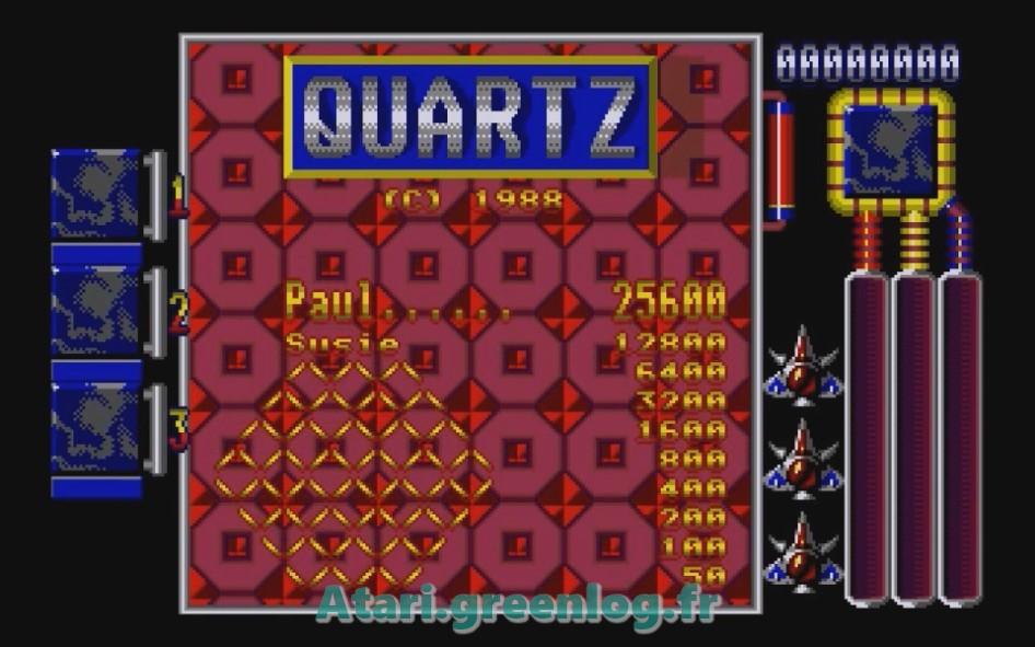 Quartz : Impression d'écran 4