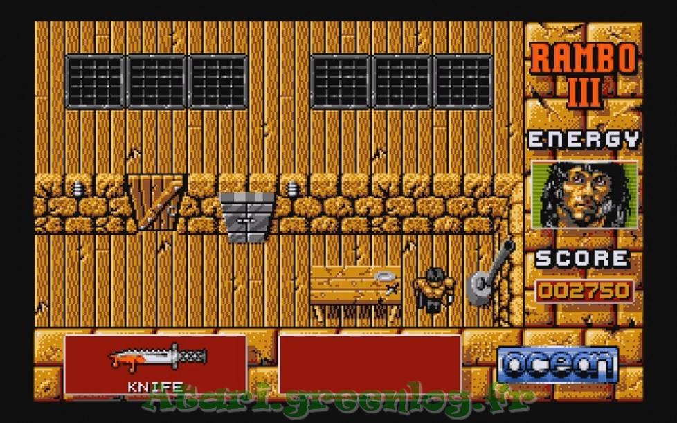 Rambo 3 : Impression d'écran 9