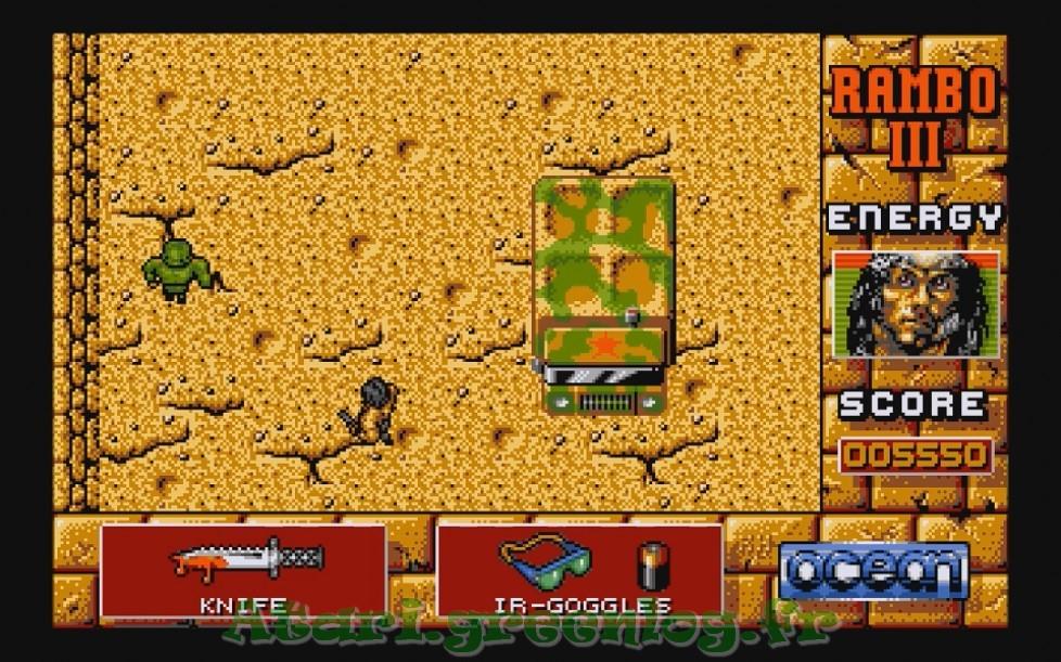 Rambo 3 : Impression d'écran 14