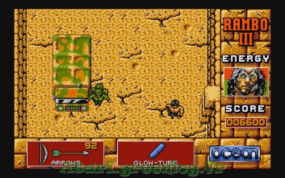 Rambo 3 : Impression d'écran 16