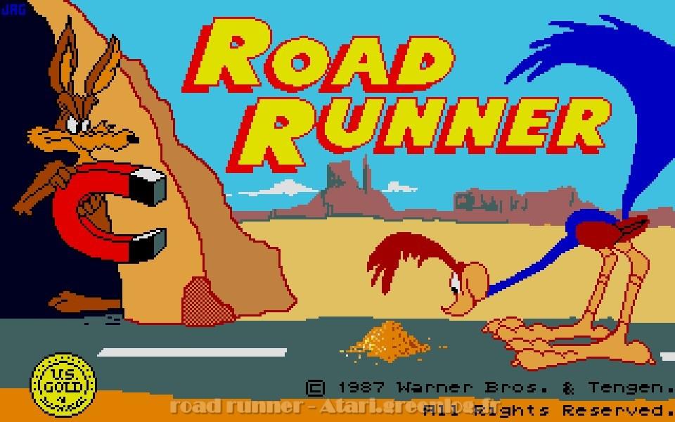 Road Runner Sur Atari Greenlog Fr Par Atari Greenlog Fr