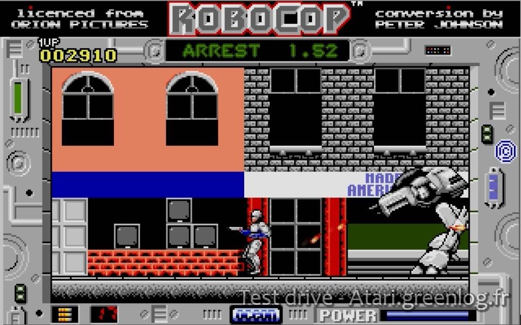Robocop : Impression d?écran 1
