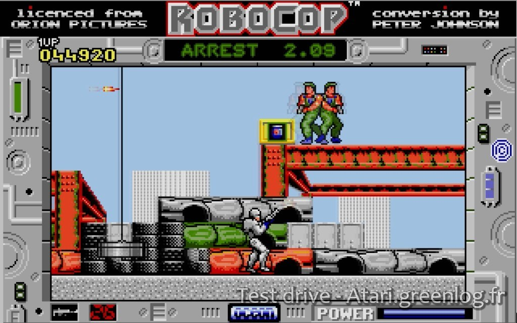 Robocop : Impression d?écran 6
