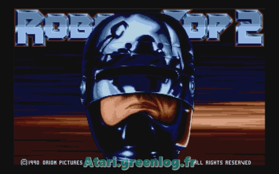 Robocop 2 : Impression d'écran 3