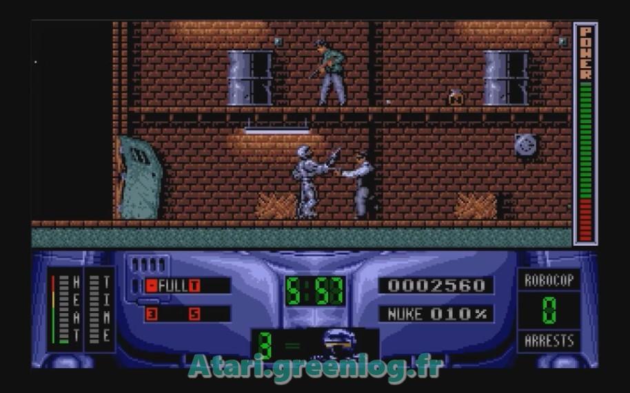 Robocop 2 : Impression d'écran 11