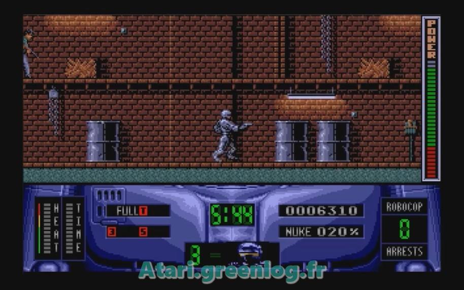 Robocop 2 : Impression d'écran 16