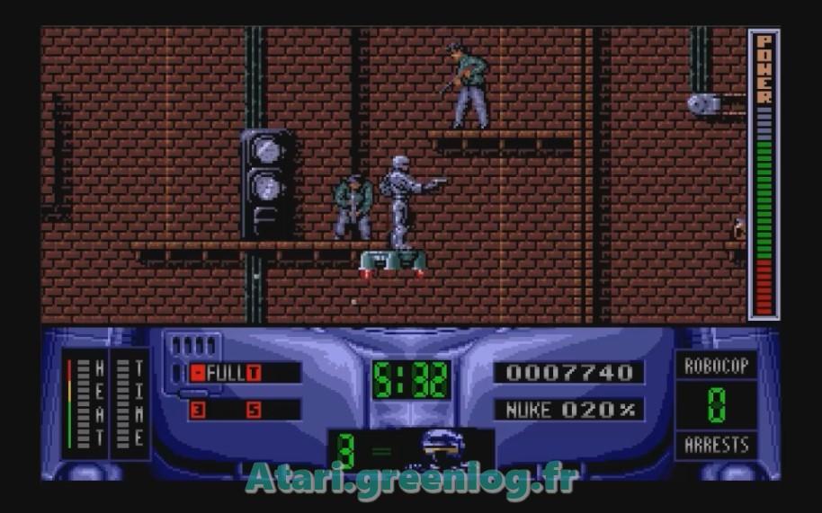 Robocop 2 : Impression d'écran 18
