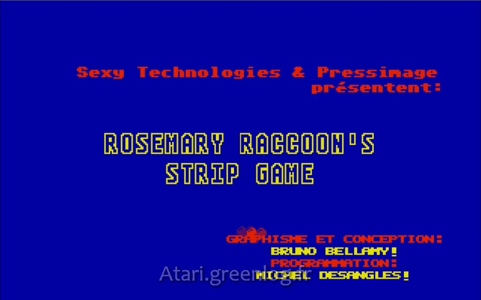 RoseMary Raccon's Strip Game (Roracoon)