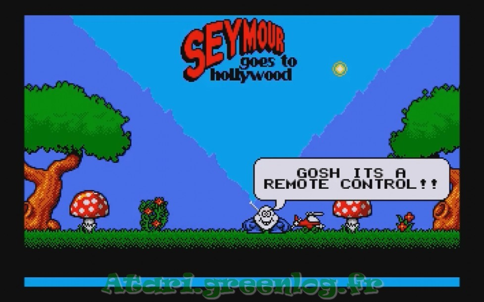 Seymour goes to hollywood : Impression d'écran 2