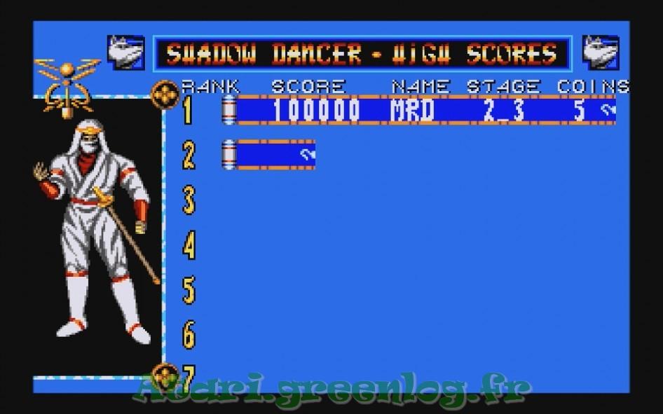Shadow Dancer : Impression d'écran 2
