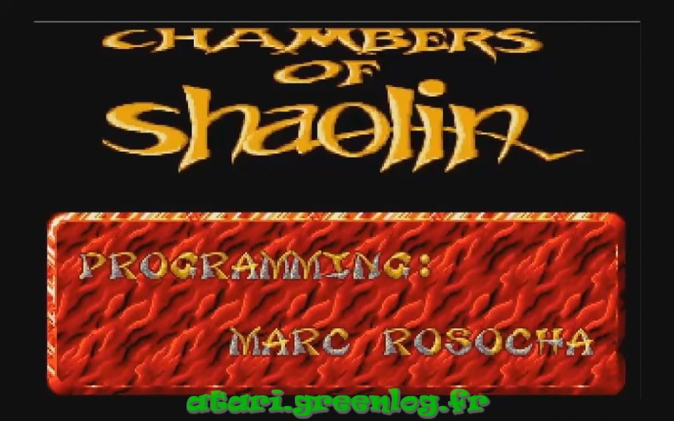 La chambre de Shaolin
