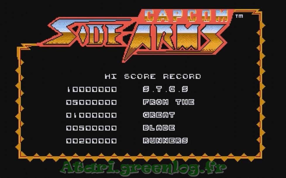 Side Arms : Impression d'écran 2