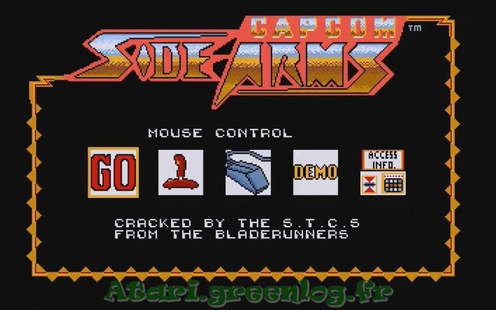 Side Arms : Impression d'écran 3