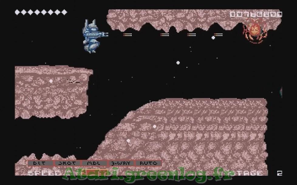 Side Arms : Impression d'écran 10