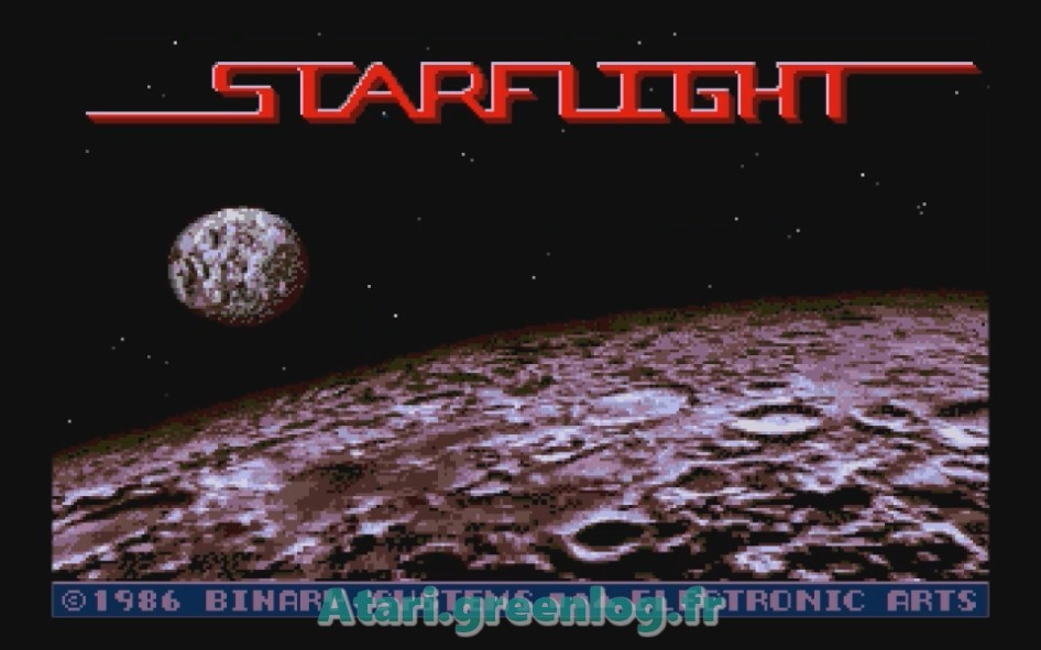 Starflight : Impression d'écran 3