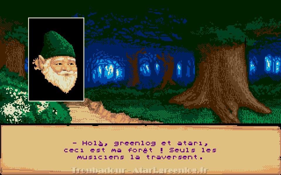 Troubadours : Impression d'écran 11