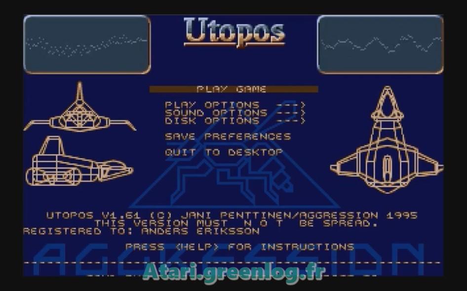 Utopos : Impression d'écran 3
