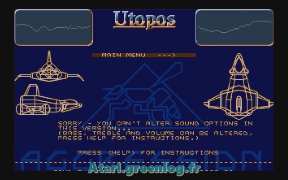 Utopos : Impression d'écran 6