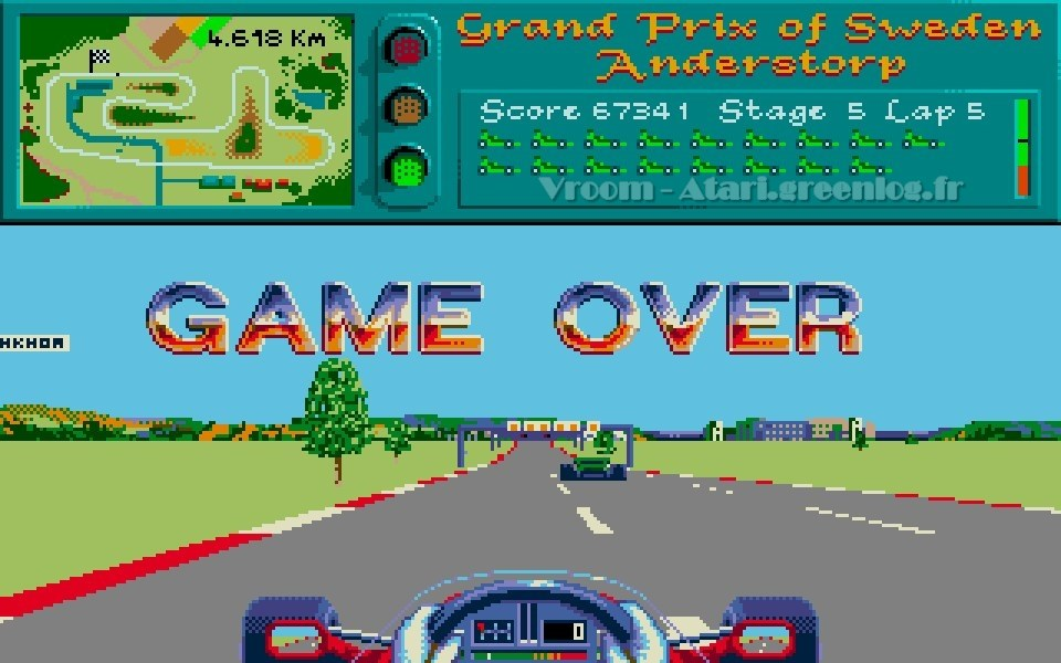 Vroom : Game Over