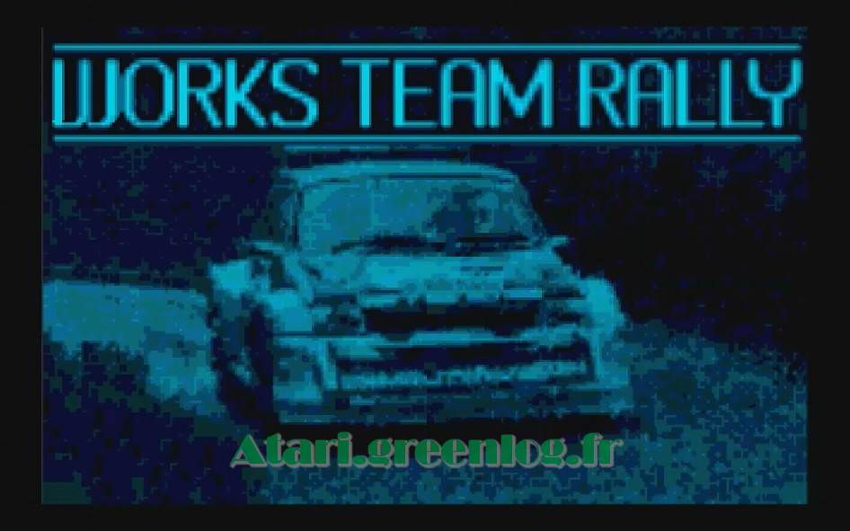 Works Team Rally : Impression d'écran 5